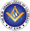 Official seal of the Grand Lodge of Colorado